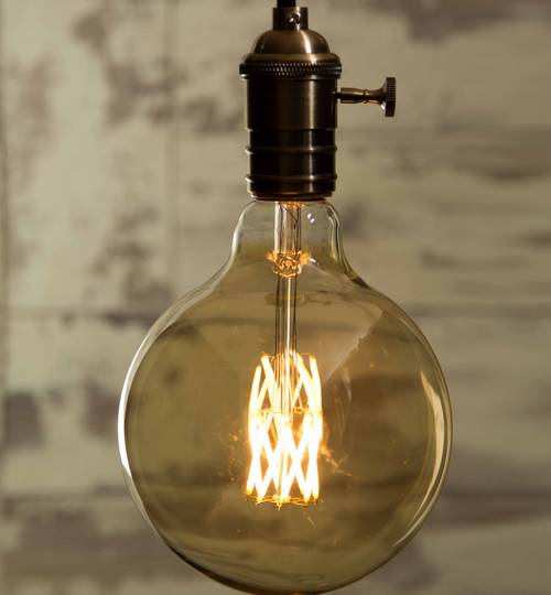 LED Light Bulb - Globe Vintage