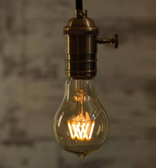 LED Light Bulb - Pear Vintage