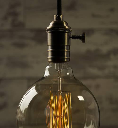 Vintage Style Light Bulb - Globe
