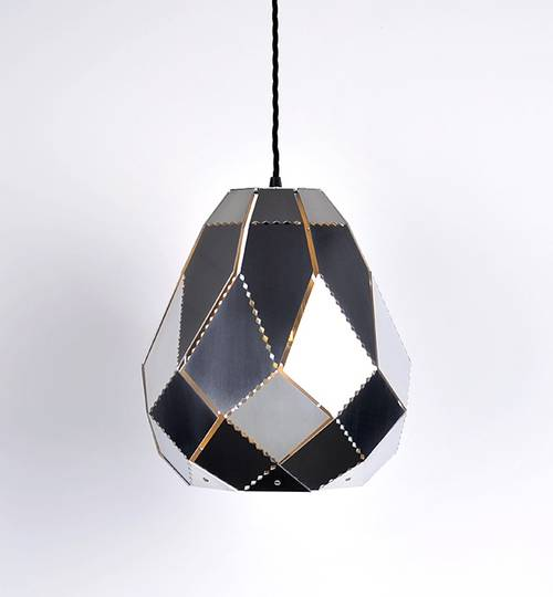 Stainless Steel Pear Moroccan Lamp