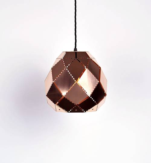 Copper Globe Moroccan Lamp