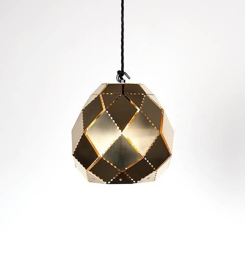 Brass Globe Moroccan Lamp