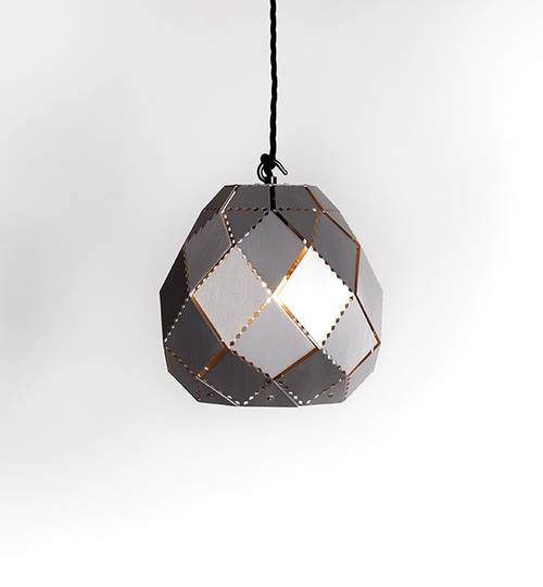 Stainless Steel Globe Moroccan Lamp