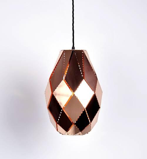 Copper Plume Moroccan Lamp