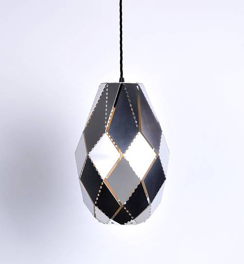 Stainless Steel Plume Moroccan Lamp