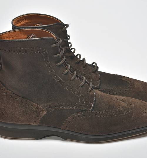Men's Lancaster Suede Mocca Boots