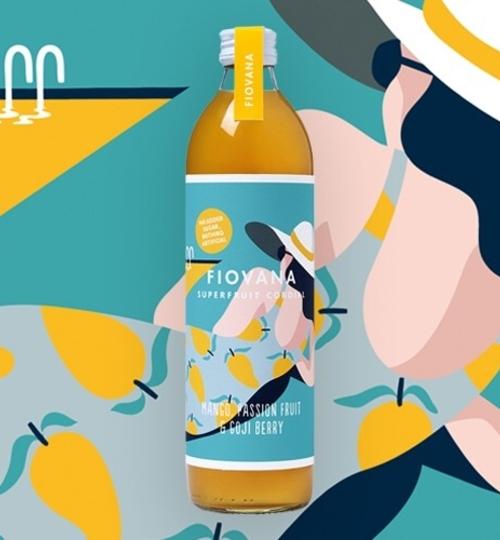 X2 Mango, Psn. Fruit & Goji Cordial