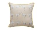 Flamingo Cushion - Dusted Stone