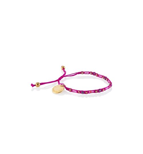 Wayuu Social Impact Bracelet - Pink