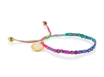 Wayuu Social Impact Bracelet - Rainbow