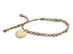 Wayuu Social Impact Bracelet -GoldPink