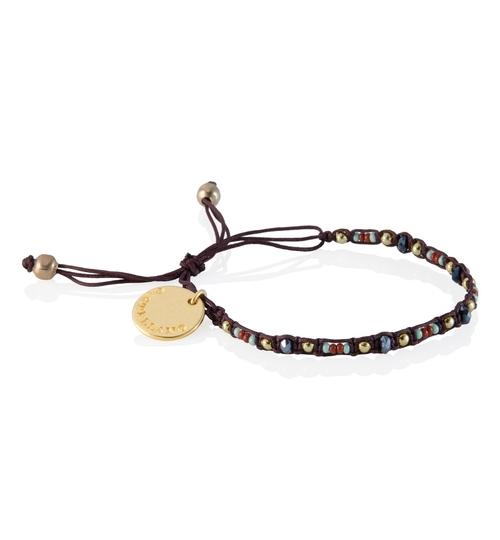 Wayuu Social Impact Bracelet - Brown