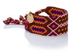 Wayuu Good Vibes Bracelet - Brown