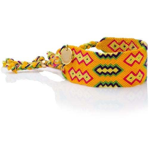 Wayuu Good Vibes Bracelet - Yellow