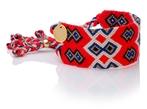 Wayuu Good Vibes Bracelet - Red