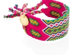 Wayuu Good Vibes Bracelet - Pink