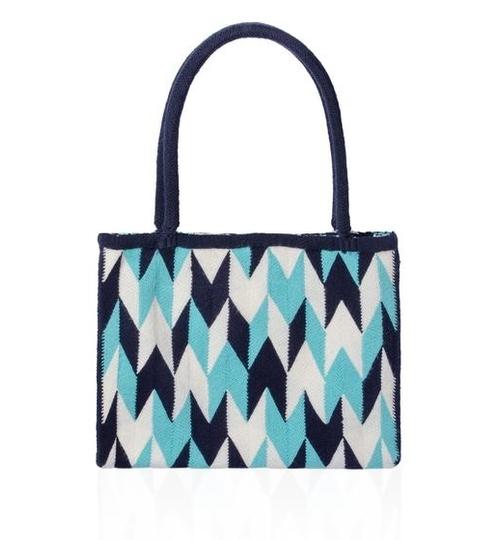 Wayuu Osonush Handbag - Blue