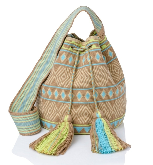 Wayuu Liwa Large Mochila Bag