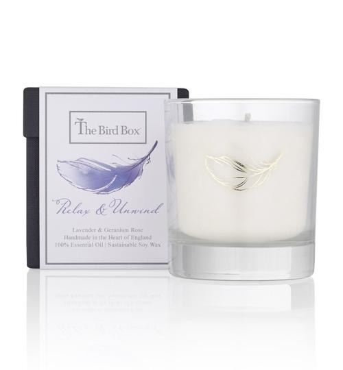 Lavender & Geranium Rose Candle