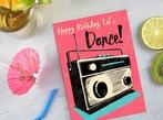 Let's Dance Birthday Card