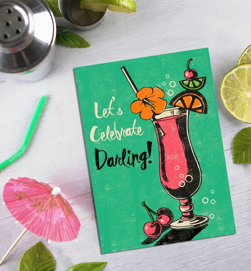 Let's Celebrate Darling Card