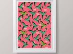 A3 Hummingbirds Art Print