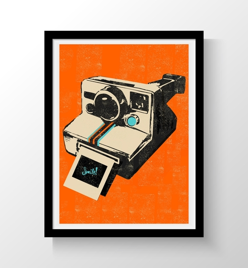 A3 Retro Art Print