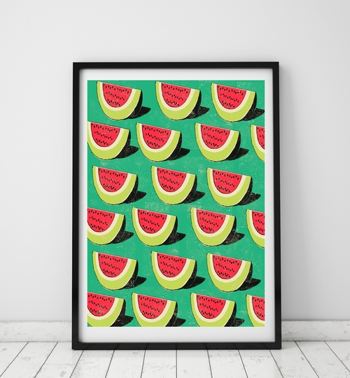 A3 Watermelon Art Print