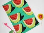 Watermelon Print Tea Towel