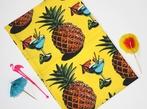 Pineapples & Cocktails Print Tea Towel