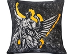 """Angel of Justice"" Cushion"