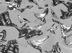 """""""Swarm Evolution Grey"""" Fabric"""