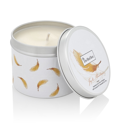 'Joy & Abundance' Travel Candle