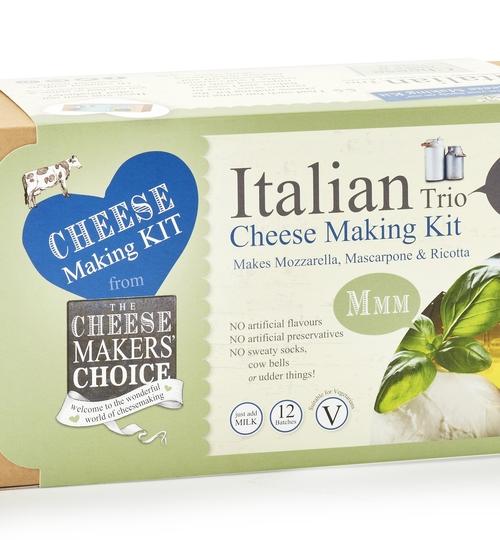 Italian Trio Cheese Making Kit