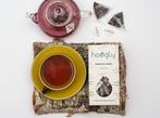 15 Rhubarb & Vanilla Tea Pyramids