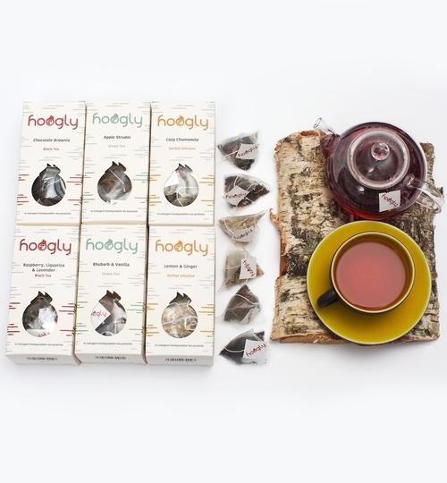 Mix & Match 6 Boxes Of 15 Tea Pyramids