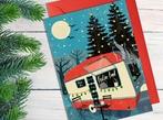 Festive Food Truck Christmas Card