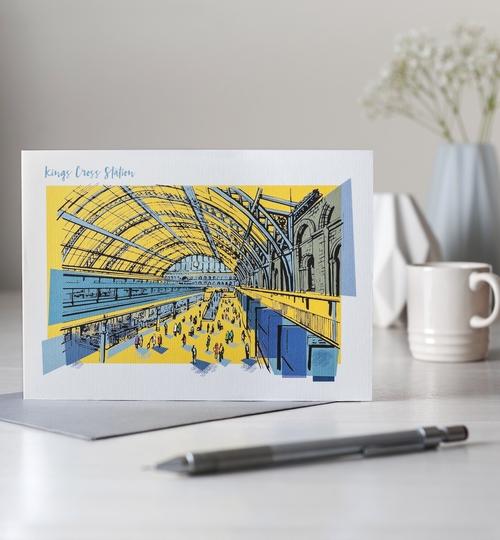 Kings Cross Station, Greetings Card