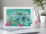 Kew Gardens, London Greetings Card