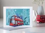 London Bus, Greetings Card