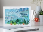 London Sky Garden, Greetings Card
