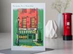 London Pie & Mash Shop, Greetings Card