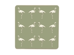 Flamingo Placemats - Olive