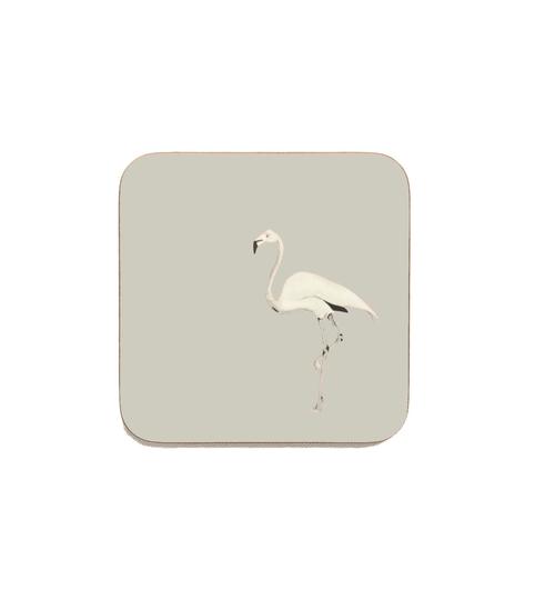 Flamingo Coasters - Dusted Stone