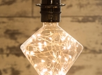 LED Light Bulb: Decorative Diamond