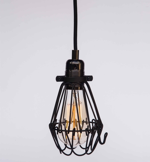 Industrial Lightbulb Cages