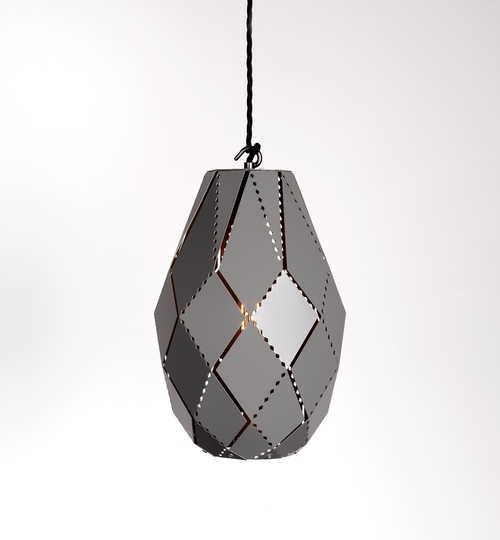 Plume Powder Coated Moroccan Lamp