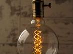 Vintage Light Bulb: Globe Spiral