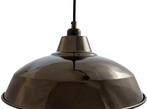 Industrial Lamp Shades Pearl Black