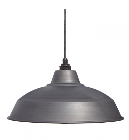 Industrial Lamp Shades Raw Steel